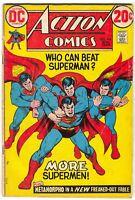 Action Comics 418 DC 1972 VG Superman Nick Cardy Metamorpho Lex Luthor