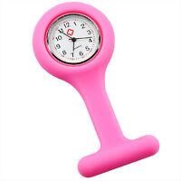 Nurse watch silicon Fashion Silicone Brooch Tunic Fob Watches