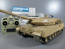 Tamiya RC 1/16 Leopard 2A6 Full Option w/ DMD Control unit Tank 2.4 Futaba RTR