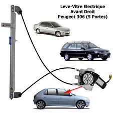 PEUGEOT 306 5P Break Mecanisme de Leve Vitre Electrique Avant Droit Passager