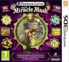 Professor Layton And The Miracle Mask - Nintendo 3DS. Complete.