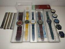 Stock di orologi e accessori Swatch anni '90