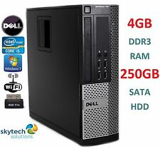 CHEAP ULTRA FAST DELL OPTIPLEX 790 SFF INTEL QUAD CORE i5 PC WiFi WIN 7 COMPUTER