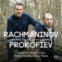 Cello Johannes Moser - Rachmaninov ; Prokofiev: Works for Cello and Piano [CD]