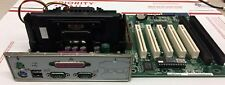 BCM QS440BX GVC DR730 MOTHERBOARD PIII 450MHz 128MB 2 ISA Slots 9K503101405 E02