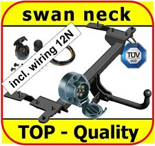 Towbar & Electric 12N Suzuki Grand Vitara 5 Door 2005 - on / swan neck Tow Bar