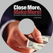 Auto Sales Training - Close More, Make More! eBook on CD