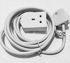 Eurosonic Extension Lead 1 Gang 3M enchufe de alimentación de red Reino Unido Reino Unido Adaptador de Cable de alimentación estándar