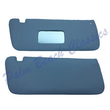 Mercedes Benz New Set of Grey Sun Visors for the R107 from 1972 to 1989