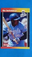 1989 Donruss Bo Jackson Kansas City Royals #208 Baseball Card