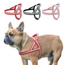 Quick Control Reflective No Pull Pet Harness for Dogs Leather Small Medium Large