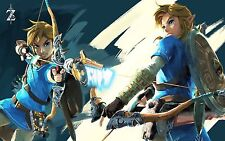 Poster A3 The Legend Of Zelda Breath Of The Wild 11
