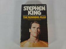 Stephen King The Running Man  Richard Bachman  Movie Cover Paperback