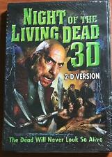 NIGHT of The LIVING DEAD 3D: 2-D Version BRAND NEW DVD