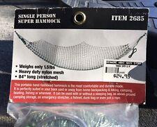 Rothco Olive Drab Super Hammock - 800 lb Capacity Nylon Single-Sized Hammocks