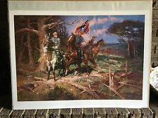 Robert Summers Signed/Numbered Print The First Victory NWOT