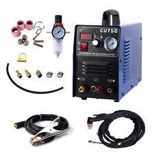 CUT 50 Plasma Cutter Pilot Arc 50A CNC Plasma Cutter 110/220V 1-14mm cutting