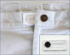White Pants Shorts Jeans Trousers Waist Extension Expander Extend Size Button