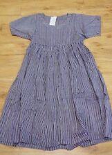 Nepal Handmade Dresses / Striped / L - 1066