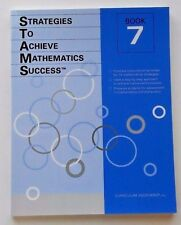 New Book! 12 Strategies To Achieve Math Success! 7th Seventh Grade 7 Curriculum