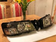 2003-2005 Subaru Forester Headlights Retrofitted With Mini H1 Projectors + Demon