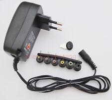 AC/DC regulate power adapter 3V/4.5V/5V/6V/7.5V/9V/12V supply 600MA/0.6A EU plug