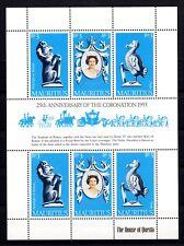 Mauritius : 25th. Anniversary of the Coronation 1953 Postfrisch