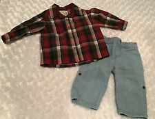 The Children's Place Baby Boy Outfit Set Size 6-9 Months In EUC (BIN AF)