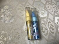2 x OFFICIAL DISNEY PRINCESS BELLE & CINDERELLA LIPGLOSS WITH MINI FIGURES
