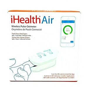 Pulse iHealth Air Wireless Pulse Oximeter. Open Box/Brand New. Free Shipping.
