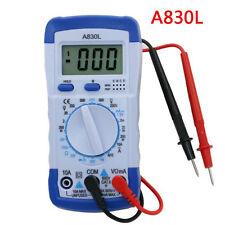 A830L LCD Digital Multimeter Voltage Diode Freguency Multitester Test Current JK