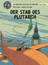 Blake & Mortimer 20: Der Stab des Plutarch - deutsch - Carlsen - NEU