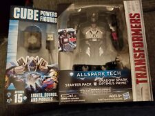 Transformers Allspark Tech Starter Pack Shadow Spark Optimus Prime In Hand F2