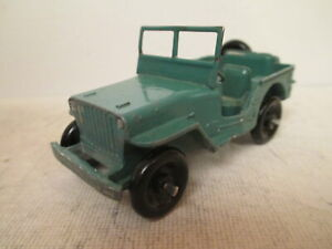 FRENCH DINKY 24M CIVILIAN JEEP HOTCHKISS WILLYS 1948 UNCOMMON RARE SO NICE L@@K