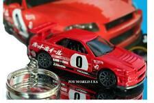 Custom Key Chain Nissan Skyline GT-R R34 red
