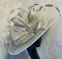 Nigel Rayment Mushroom/Oyster Formal Hat Wedding,Races, Mother of the Bride