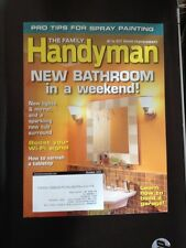 Family Handyman New Bathroom in a Weekend Boost WiFi DIY Oct 2014