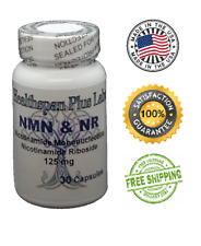 NMN & NR Supplement NAD+ 30 count 125mg NAD Boost