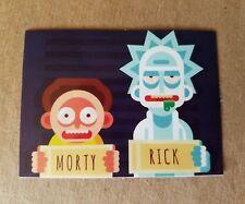 Neon Retro Rick and Morty Sticker - Pocket Game Adult Swim Cartoon Anime EDM NEW