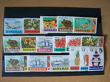 Bahamas,17 Different Qe11 Definitives,U/Mint.Excell ent.