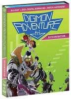 DIGIMON ADVENTURE TRI. - DETERMINATION (DVD + Blu-ray + Digital HD) W/ POSTER