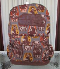Disney Store Star Wars Backpack Han Solo Chewbacca Lando Laptop Protection Nwt
