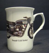 1 Triumph T150 Trident Motorbike Fine Bone China Mug Cup Beaker