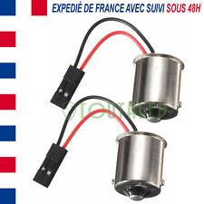 2X ADAPTATEUR BA15S SANS SOUDURE POUR PLAQUE LED 12V TUNING CAMPING CAR BATEAU
