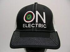 ON ELECTRIC - ONE SIZE ADJUSTABLE SNAPBACK BALL CAP HAT! 19fd5b6b5522