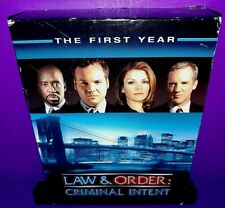 Law  Order: Criminal Intent - The First Year (DVD, 2003, 6-Disc Set) B539