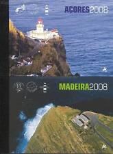 AZOREN + MADEIRA - 2008 JAHRES MARKENHEFTE 20 21 MIT EUROPA CEPT gestempelt