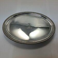 antiker Salver / Tablett London 1802 Sterling Silber 925 punziert