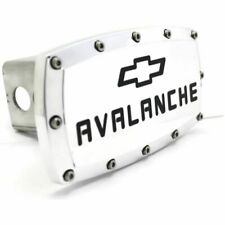 "Chevrolet Avalanche Billet 2"" Tow Hitch Cover Plug Engraved Billet Aluminum"