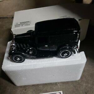1932 Chevrolet Delivery Sedan Black National Motor Museum Mint 1/32 Scale NIB
